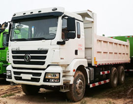 Dump Truck / SHACMAN M3000 6*4 / 10 wheels dump truck 300 hp