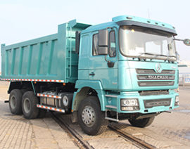 SHACMAN F3000 10 wheels dump truck with 345hp Cummins engine