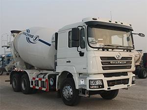 SHACMAN F3000 cement mixer truck