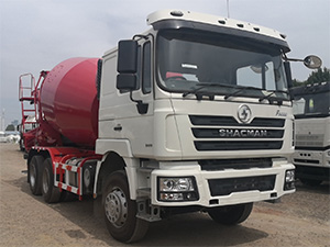 SHACMAN F3000 concrete mixer truck for sale
