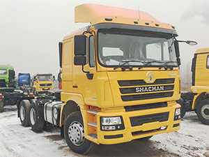 China Shaaxi 10 wheeler trailer truck for sale,shacman trailer truck