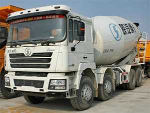 SHACMAN concrete transit mixer truck,shacman transit mixer truck