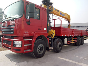 Shaaxi automobile group lorry with crane for sale,shacman lorry crane for sale