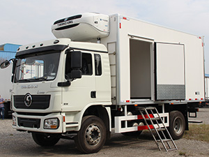 shacman reefer truck,shacman refrigerator truck,cold chain transport truck
