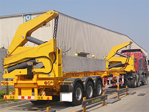 container side loader trailer for sale,self loading container trailer for sale