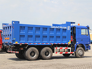 shacman dump truck used for payloads,shacman tipper lorry for sale