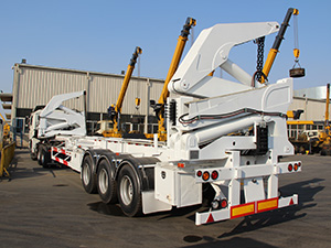 sidelifter for 40ft container,20ft container side lifter,container sideloader