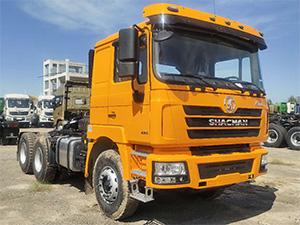China shacman prime mover trailer trucks 10 wheels 6x4 price